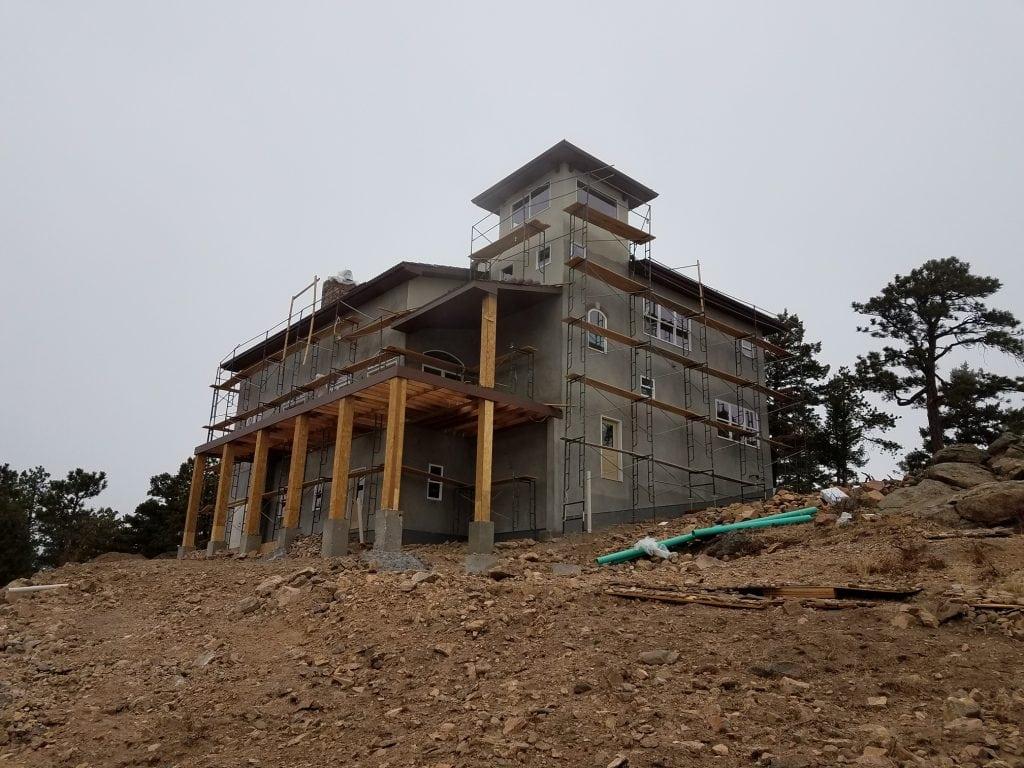 custom home general contractor in colorado