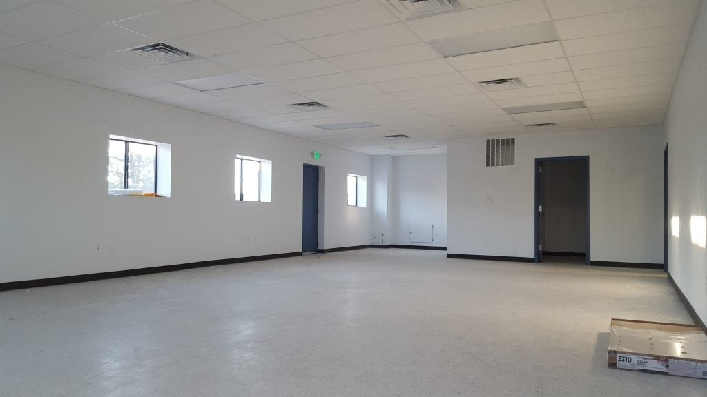 interior finishing for commercial building