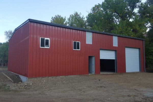 Steel buildings for barns and stables