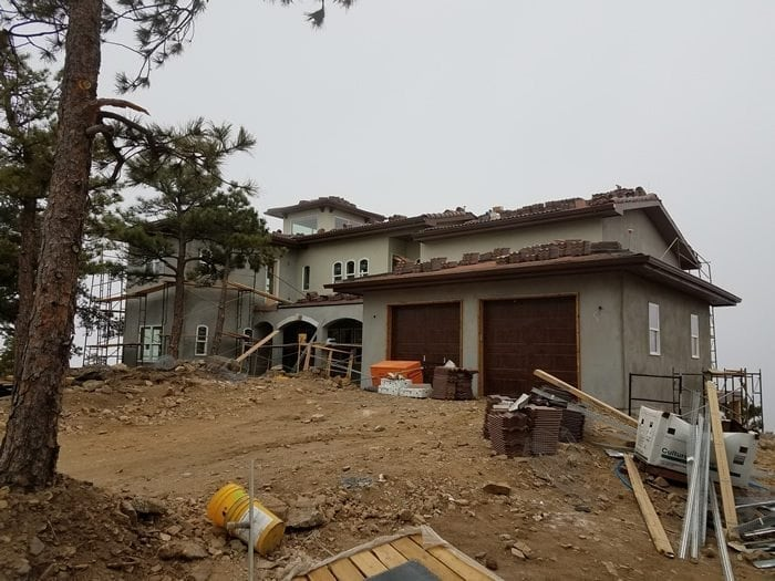 Construction services for custom homes in Colorado