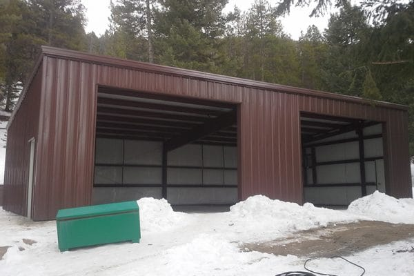 Steel building contractor in colorado
