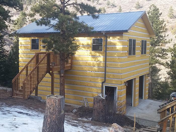 Log cabin contractor in colorado